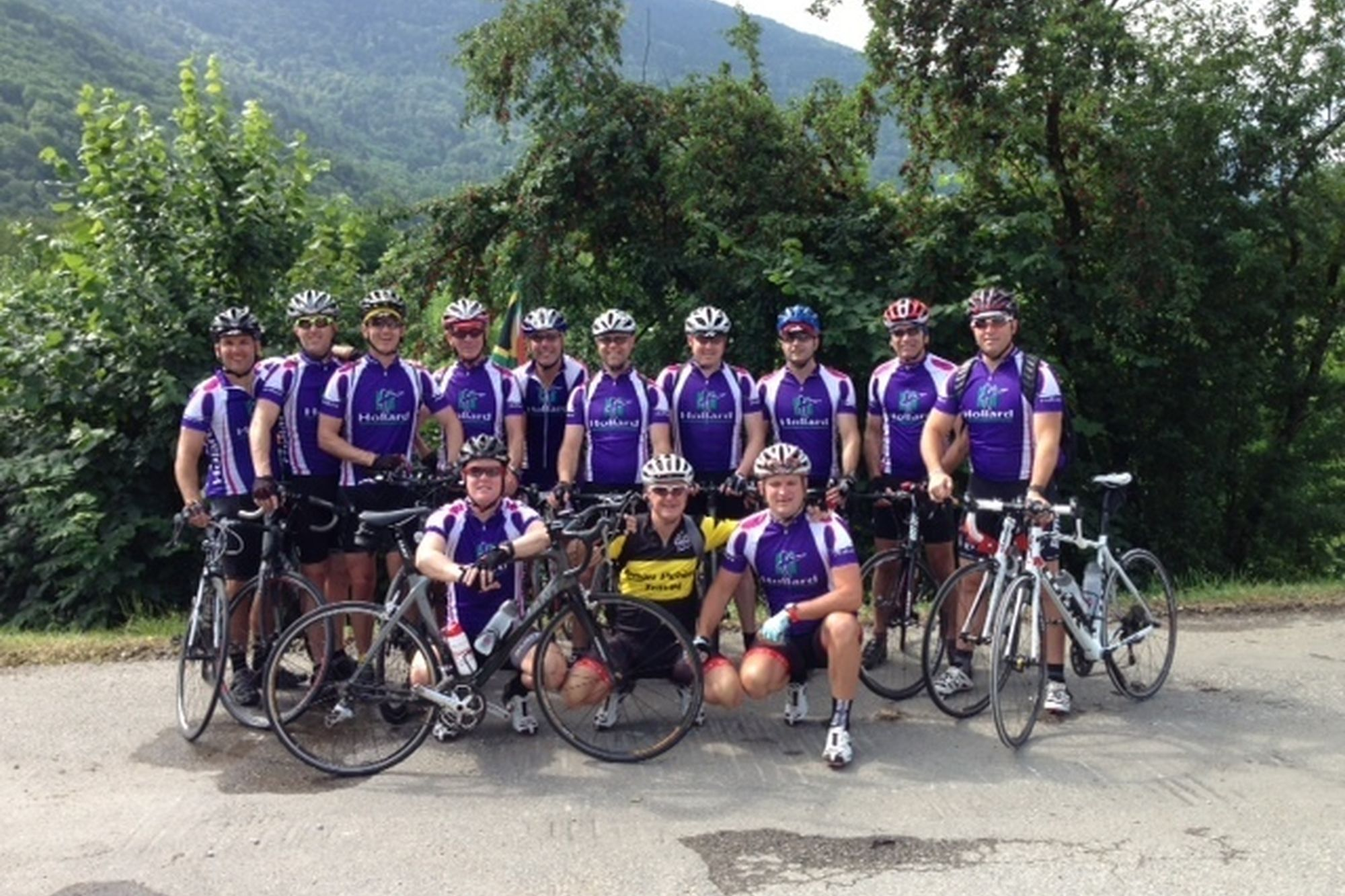 Team SA in Hollard kit